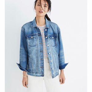 Madewell Oversized Denim Jean Jacket